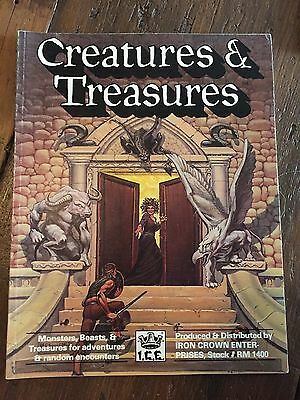 Rolemaster Creatures and Treasures