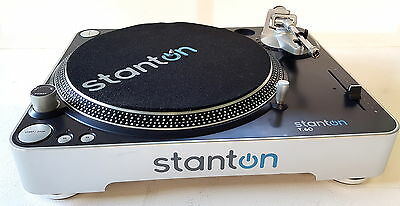 Stanton T.60 T60B-230 direct drive straight arm turntable