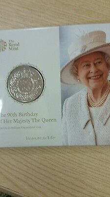 The Queen's 90th birthday coin