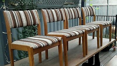 vintage retro dining chairs
