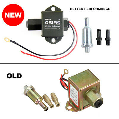 Brand New Electric Fuel Pump 12 volt Solid State 4 to 6psi  Petrol Universal AU