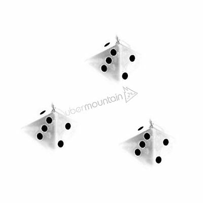 Demon Dice Stomp Pad Snowboard 3 Piece Configurable Traction Pad - Clear