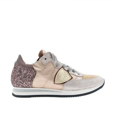Philippe Model sneakers donna in pelle laminata