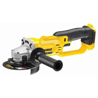 "NEW! DeWalt DCG412N-XE 18V XR Li-Ion Cordless 125mm 5"" Angle Grinder - SKIN ONLY"