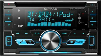 Kenwood DPX7000DAB 2DIN DAB  Bluetooth CD Front-USB Front-AUX-IN Autoradio