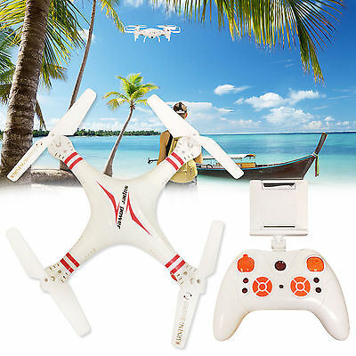 Latest Quadcopter X5C-1 WIFI White Drone Real Time FPV RC 0.3MP Camera