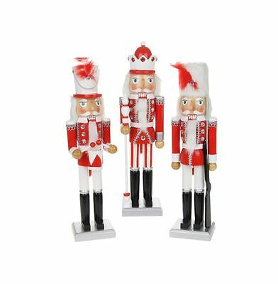 39 cm XL CHRISTMAS DECORATIVE TRADITIONAL STYLE NUTCRACKER SOLDIER ORNAMENT