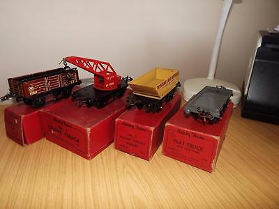 P459:  Hornby 'O' Gauge Freight Wagons x 4