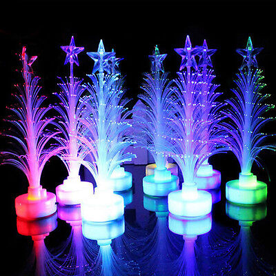 Christmas Xmas Tree Color Changing LED Light Lamp Home Decoration Ornament Gift