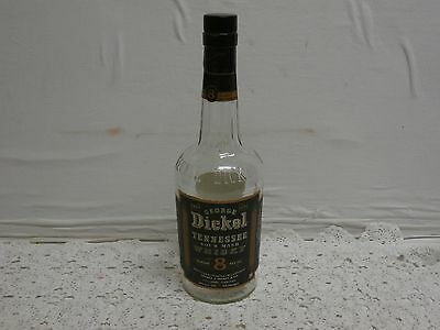 GEORGE DICKEL TENNESSEE SOUR MASH WHISKY VINTAGE BOTTLE old no 8