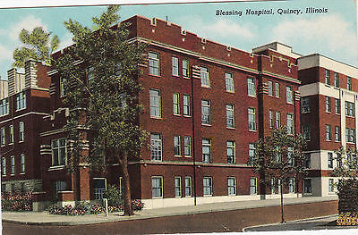 QUINCY , Illinois , 1930-40s ; Blessing Hospital
