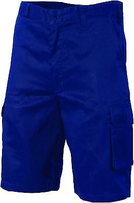 5 X Lightweight Cool-Breeze Cotton Cargo Shorts DNC 3304