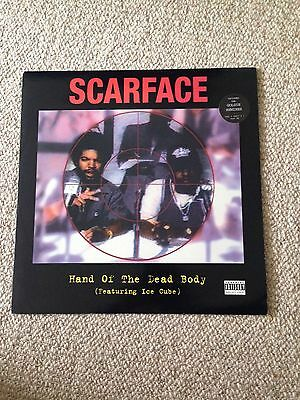 "Scarface - Hand Of The Dead Body (feat Ice Cube) 12"" Vinyl Record 1995"