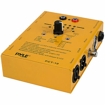 5 X Pyle Pct-10 Cable Testers