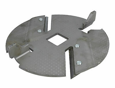 Shredder Blade Disc Assembly Fits ALKO Dynamic New Tec 515129 AL-KO Shredders