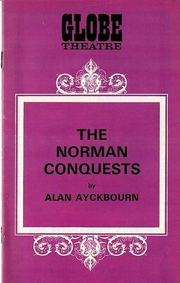 The Norman Conquests - 1974 West End Theatre program