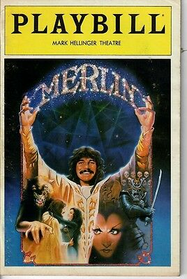 Merlin - 1983 Broadway program