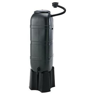 Strata Slimline 100L Space Saving Water Butt Set with Connector Stand Tap & Lid