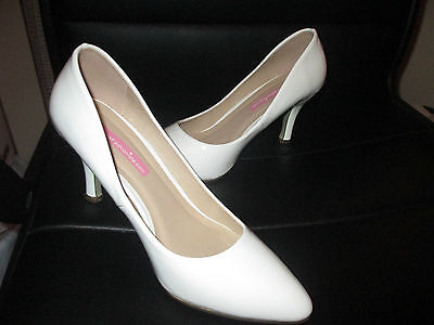 White Patent Shoes Size 6