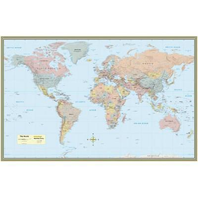 BarCharts 9781423220831 World Map-Laminated