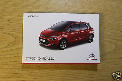 Citroen C4 Picasso Owners Manual Handbook  2013-2016 Book