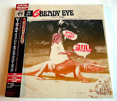 BEADY EYE Different Gear Still Speeding +2 JAPAN CD + DVD 2011 w/OBI L/E Oasis