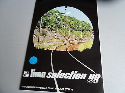 Lima Catalogues/Folder Edition HO  Gauge Very Good Condition