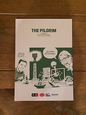 Plymouth Argyle Vs Liverpool Programme - FA Cup 3rd Round Replay - 18/01/2017!