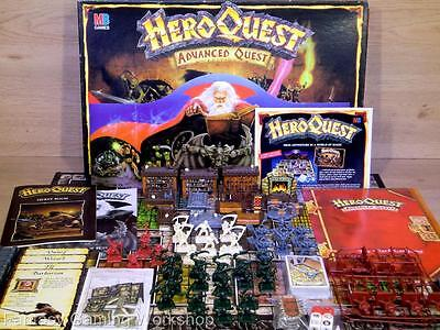 Heroquest Advanced Quest Edition - Mb/games Workshop - 100% Complete  - Boxed!