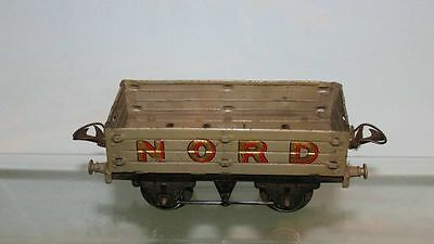 Hornby Series O Gauge Plank Wagon Nord Gold Lettering Red Outline