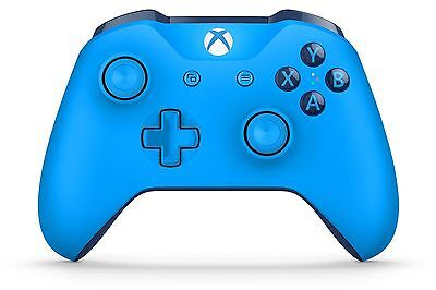 Xbox One Wireless Controller: Blue - Gaming Accessory Bluetooth Microsoft NEW