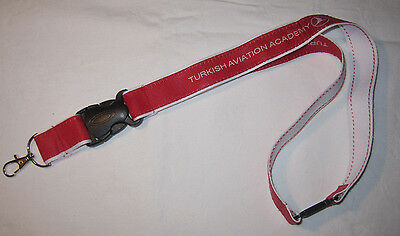 Turkish Airlines Aviation Academy Schlüsselband Lanyard NEU (T159)