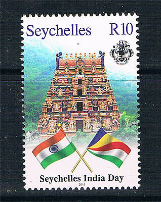 Seychelles 2016 India Day 1v MNH