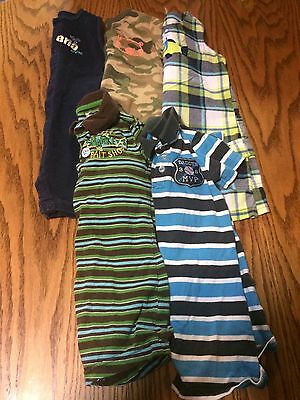Lot Of 5 Toddler Boys Size 24 Months Rompers One Piece Outfits Shorts