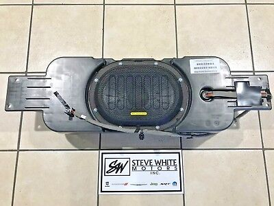 15-17 Jeep Wrangler New Subwoofer Speaker Alpine Oem Mopar Genuine Sub Woofer