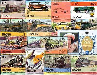 Tuvalu 100 timbres différents