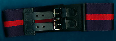 Genuine Military Army Stable Belt QUEENS GURKHA SIGNALS .MINT