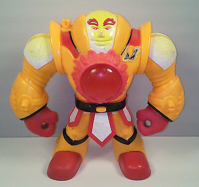 """2007 Light-Up Sun Commander 7.25"""" Planet Heroes Action Figure Fisher-Price"""
