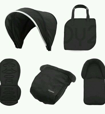 NEW BabyStyle Oyster 2 / Max Colour Pack in Black