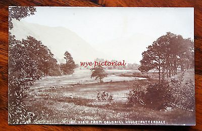 Lake District - View From Goldrill House - Patterdale - Real Photo Postcard