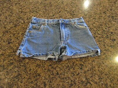 """Childrens Place Blue denim jean Casual Shorts toddler  6 W 22"""" x L 3 boys girls"""