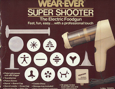 Wear Ever Super Shooter, Electric Foodgun, Used, Very Good Condition