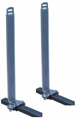 Eckla Car Roof Rack PAIR Uprights for Kayaks Boats and Canoes + PVC Protection