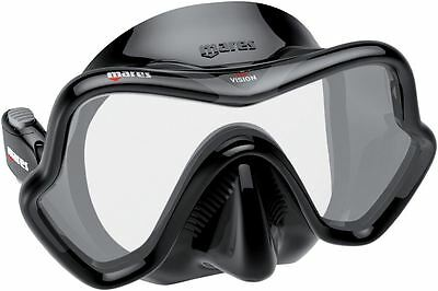 Mares - One Vision Scuba Dive Diving Snorkelling Mask - Black/Black - NEW 2015