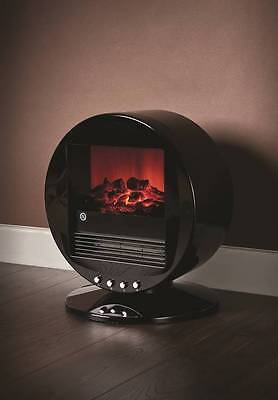 Fine Elements Desktop Flame Effect Electric Stove Portable Heater 2000 Watt