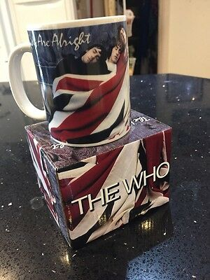Coffee Mug The Who The Kids Are Alright Union Jack Present Gift Live Nation 2010