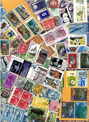 UNITED STATES UNSORTED COLLECTION OF OVER 500 STAMPS USED & MINT : See Scan