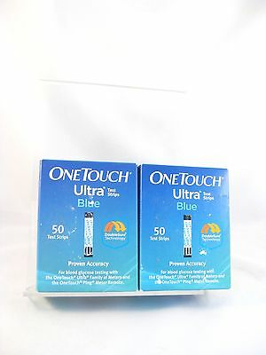DIABETIC TEST STRIPS    One Touch Ultra Blue  100 Count   NEW