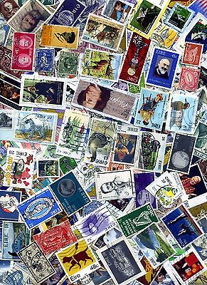 IRELAND UNSORTED COLLECTION OF OVER 250 STAMPS USED & MINT : See Scan