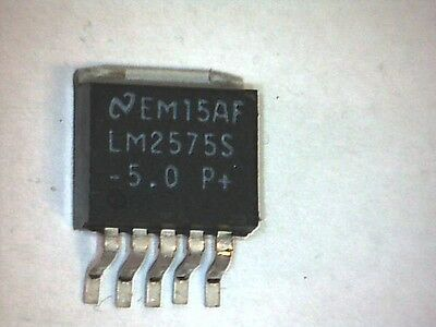 Spannungsregler V-Reg LM2575S-5.0 +5V 1A Simple Switcher DDPAK/TO-263 SMD/SMT